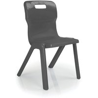 Titan 1pc School Chair Size 2 Charcoal