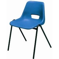 Sirius Stacking Chair Polyprop Char